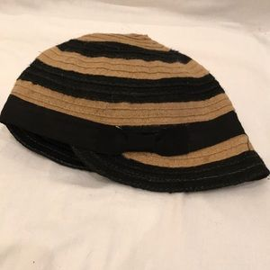 Madison 88- NYC- Anthropologie jute hat w/side now